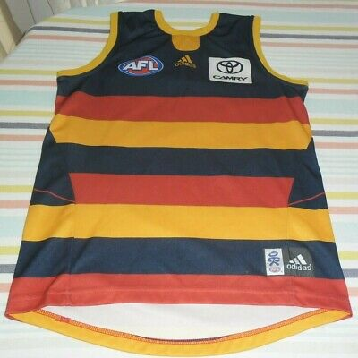 AU15 • Buy AFL Adelaide Crows Guernsey - Adult Small - GC - Adidas