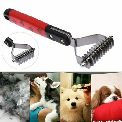 Pet Dematting Comb Mat Brush Splitter Long Haired Breed Pet Tool For Pet Dog Cat • 4.96£