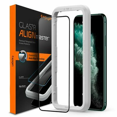 AU20.04 • Buy Spigen ALM GLAS.tR Full Face Tempered Glass IPhone X/XS/11 Pro