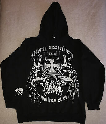 WWE Authentic Black Hoodie Small Excellent Condition • 5£