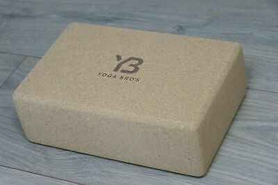 Yoga Bro's – Yoga, Pilates, Cork Block, Brick Non Toxic, Grip. 3 X 6 X 9 • 5£