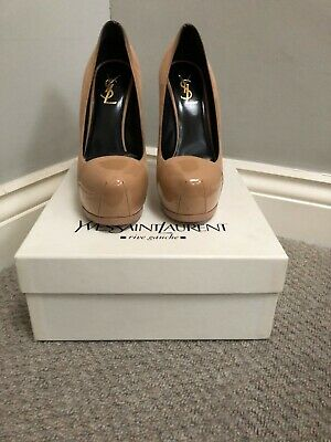 YSL Tribute Nude Heels Size 5/38 NWB With Some Marks On Side Of Shoes. • 60£