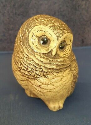 Poole Pottery Stoneware Bird, Small Owl, Impressed Stamp & Signed  H  • 9.95£