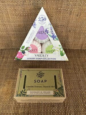 Yardley Luxury Soap Collection Gift Set Handmade Soap Company Lavender Soap • 4.99£