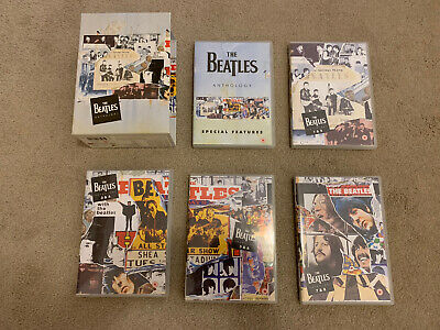 The Beatles Anthology DVDs Very Good Condition • 25£