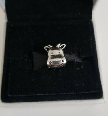 Silver Happy Cow Pandora Size Charm Gift S925 • 6£