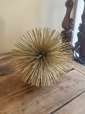 Two's Company Gold Starburst Sphere Ball Decorative Spike Accent - 7  • 20.61£