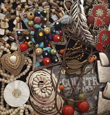 $ CDN37.88 • Buy Vintage Now Unsearched Untested Junk Drawer Jewelry Lot Estate All Wear L954