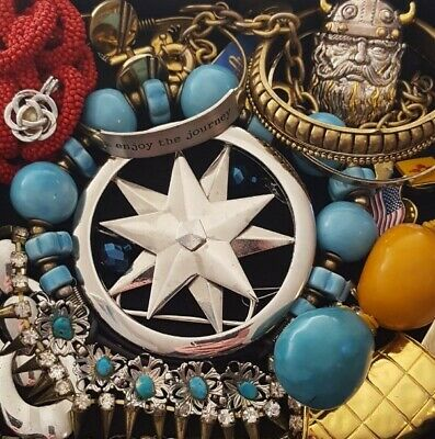 $ CDN45.72 • Buy Vintage Now Unsearched Untested Junk Drawer Jewelry Lot Estate All Wear L955