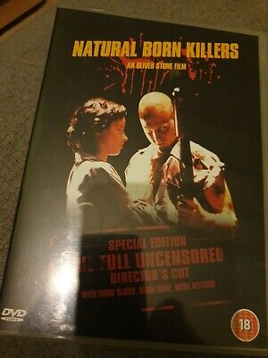 Natural Born Killers Directors Cut Dvd • 0.99£