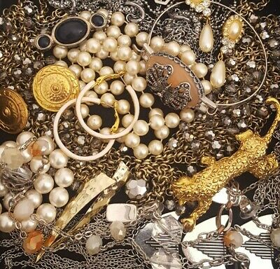 $ CDN52.25 • Buy Vintage Now Unsearched Untested Junk Drawer Jewelry Lot Estate All Wear L958