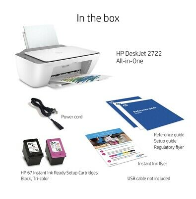 View Details HP All In One Printer - Ink Ready And Four Months Free Ink • 53.99$