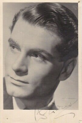 Film - LAURENCE OLIVIER Original Signed Young Pc.photo  • 62.26£