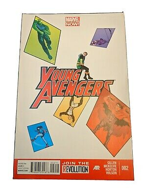 Marvel Comic Book Young Avengers #2 • 4.70£