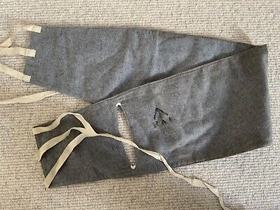 Rare Original Ww1 British Army Soldiers RAF Issued Cloth Kidney Warmer • 11.83£