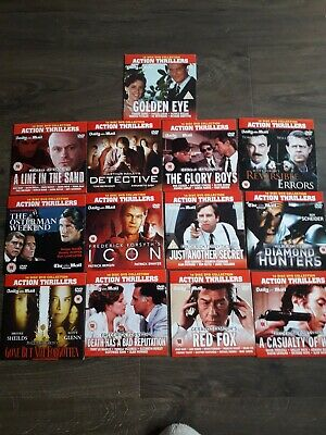 Daily Mail Dvd Set Of 13 Action Thrillers  • 5.50£