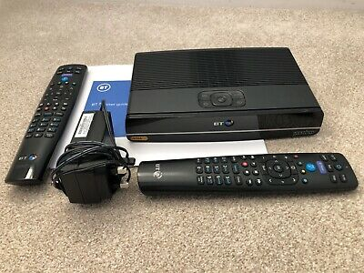 BT Ultra HD 4K Youview Box - DTR-T4000  - 1TB  - UHD TV Smart Recorder • 41.99£