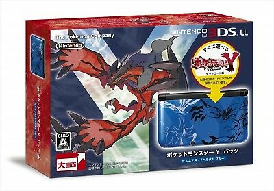 $287.01 • Buy  Nintendo 3DS LL Console Pokemon POCKET MONSTER Y Pack Xerneas And Yveltal Blue