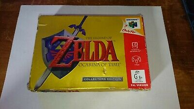 The Legend Of Zelda: Ocarina Of Time Collectors EDITION N64 AUS PAL • 150£