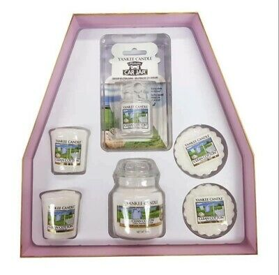 Yankee Candle Clean Cotton Gift Set • 14£