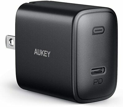 AU25.73 • Buy AUKEY Swift IPhone Fast Charger 18W USB C Charger Compatible With IPhone 12/12 P