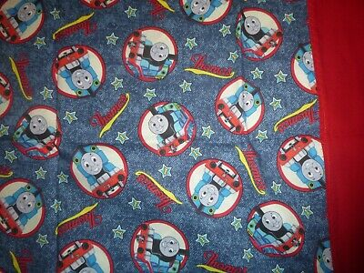 Thomas The Tank Engine Cotton Fabric Design A Standard Handcrafted Pillowcase • 10.48£