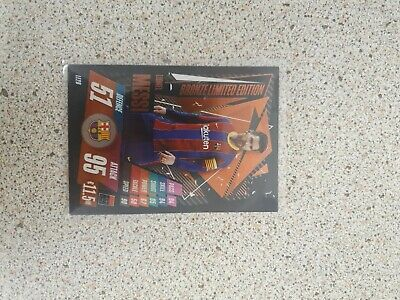 Topps Match Attax 2020/21 Lionel Messi BRONZE Limited Edition Card #LE2B • 0.99£
