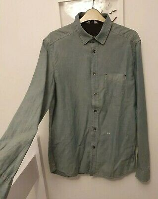 New With Tags Diesel Light Denim Shirt Size Large • 13.99£