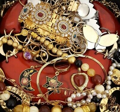 $ CDN56.17 • Buy Vintage Now Unsearched Untested Junk Drawer Jewelry Lot Estate All Wear L962