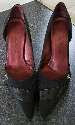 °•°Red Or Dead Black High Heel Shoes ~ Size 5 (38)°•° • 1.50£