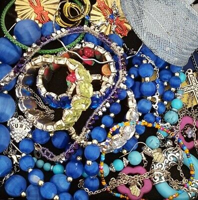 $ CDN30.04 • Buy Vintage Now Unsearched Untested Junk Drawer Jewelry Lot Estate All Wear L963