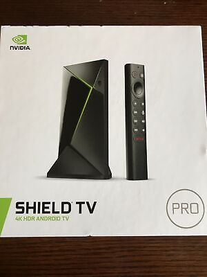$ CDN249 • Buy Nvidia Shield TV Pro 4K HDR Android TV Brand New In Box Chromecast Built In