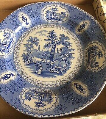 Ringtons Blue & White Plate - Tranquil Garden Boxed Unused • 2.99£