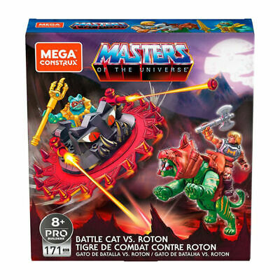 $25 • Buy 🔥Masters Of The Universe Mega Construx He-Man Battle Cat Vs Roton MOTU Sealed🔥