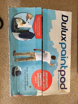 Dulux Paint Pod Roller System - Used With Box And Instructions • 15£