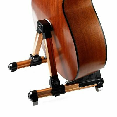 $ CDN126.73 • Buy Guitar Stand Universal Folding Aframe For Acoustic Electric Floor Stand Holder