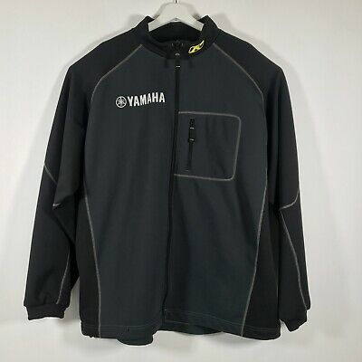 $ CDN65.16 • Buy RARE Klim Yamaha Inferno Black Full Zip Soft Shell Mid-Layer Jacket 2XL