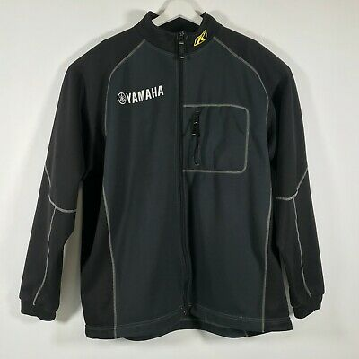 $ CDN91.22 • Buy RARE Klim Yamaha Inferno Black Full Zip Soft Shell Mid-Layer Jacket XL