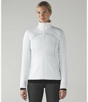 $ CDN62 • Buy NWT Lululemon Run For Cold Jacket Size 4 Insulation Water Repellent $198