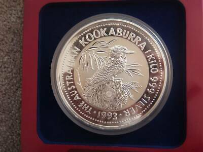 AU1600 • Buy Rare 1kg Kookaburra 1993 Silver Coin Perth Mint