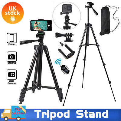 Tripod Stand Mount For Digital Camera Camcorder Phone Holder IPhone DSLR SLR UK • 13.99£