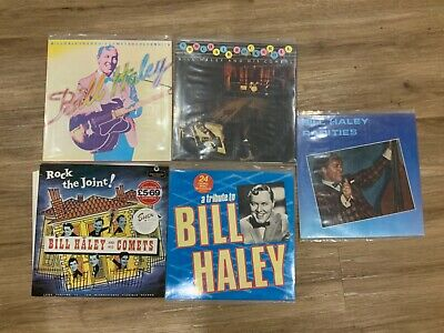 BILL HALEY AND HIS COMETS - 5 X LP's All In NM Condition As New ! • 20£
