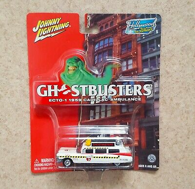 JOHNNY LIGHTNING GHOSTBUSTERS ECTO-1A - Hollywood On Wheels, 2003 • 12.99£