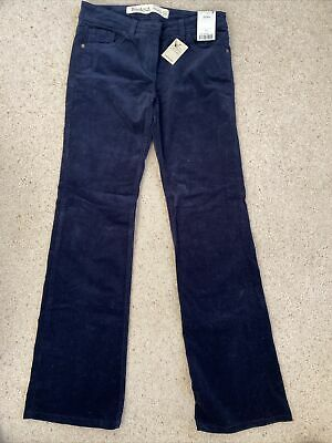 Next Bootcut Navy Cords. Size 10 • 5.50£