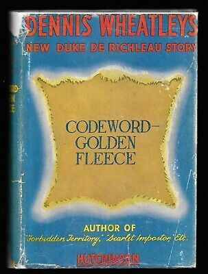 Codeword – Golden Fleece By Dennis Wheatley. 1st Edition. • 9.99£
