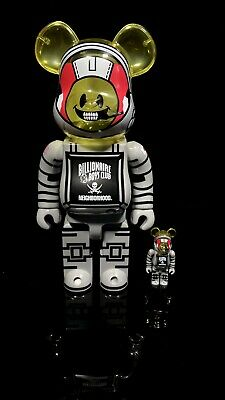 $320 • Buy BBC X NEIGHBORHOOD Bearbrick Astronaut 400% 100% Rare Sold Out Limited BE@RBRICK