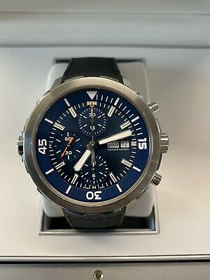 IWC Aquatimer Chronograph IW376805 Steel Automatic Watch 2019 Jacques Cousteau • 4,195£