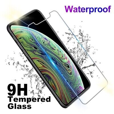 AU3.99 • Buy IPhone Tempered Glass Screen Protector Full HD IPhone 6 7 8 X XS Max 11 PRO MAX