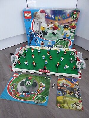 LEGO: Football GRAND CHAMPIONSHIP CUP (3425), BOXED & COMPLETE, Soccer Pitch Set • 77.99£