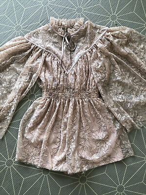 AU100 • Buy Alice Mccall Playsuit Size 4 (RRP $360)